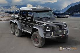 mercedes pickup truck 6x6 mansory upgrades the mercedes benz g63 amg 6x6