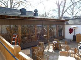 Patio Wind Screens by Outdoor Plastic Covers For Screen Porch