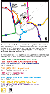Dallas Dart Map by Attend Aurora