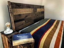 Reclaimed Wood Headboard Upcycled Reclaimed Wood Headboard 5 Steps With Pictures