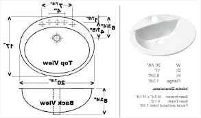 bathroom sink size guide standard bathroom sink drain size a guide on gorgeous inspiration