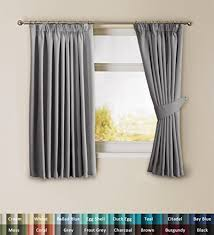 Black Curtains For Bedroom Blackout Curtains Amazon Co Uk