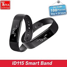 activity monitoring bracelet images Id115 smart bracelet fitness tracker step counter activity monitor jpg