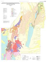 Unr Map Preliminary Geologic Map Of Cenozoic Units Of The Central Robinson