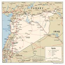 World Map Syria by Download Free Syria Maps