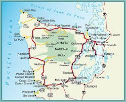 springs washington map map of olympic peninsula we spent a week cing along the