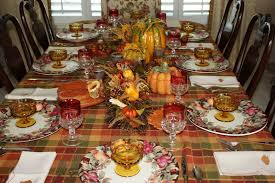 decorate thanksgiving table design decoration