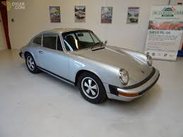 silver porsche carrera classic 1975 porsche 911 25th silver anniversary edition coupe for