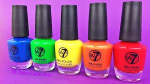 nail polish learn colors finger family song nursery rhymes fun for