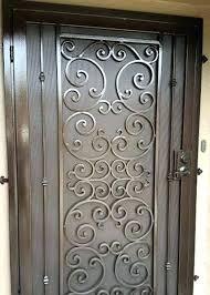 decorative metal cabinet door inserts metal cabinet door inserts decorative metal doors iron railing