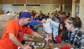 celebrate thanksgiving early by serving others on saturday