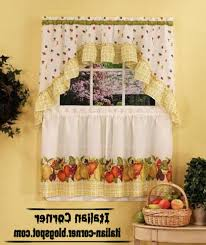 Grapes Kitchen Curtains 20 Grape Kitchen Curtains Valances Tuscany Sheer Kitchen