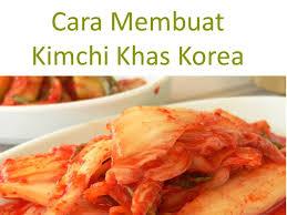 cara membuat pancake kimchi cara membuat kimchi khas korea youtube