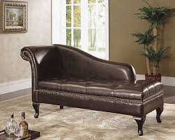 Leather Chaise Lounge Sofa Beautiful Luxurious Brown Faux Leather Large 3 Seater 62