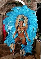 carnival brazil costumes bold in blue samba blue feathers costume samba and showgirl