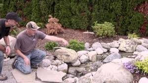 waterfall pond supply in mount vernon washington youtube