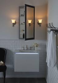 bath shower large mirrored medicine cabinet robern uplift also