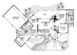 adobe floor plans adobe southwestern style house plan 4 beds 3 baths 3328 sq ft