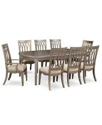 kelly ripa home hayley 9 pc dining set dining table 6 side