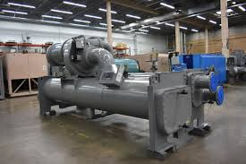 400 ton water cooled chiller surplus group