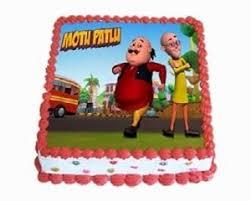 photo cake motu patlu photo cake instant delivery kids photo cakes online
