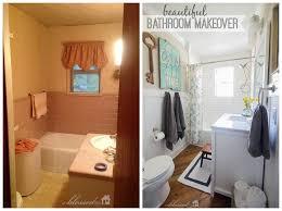 Mobile Home Bathroom Makeovers - budget bathroom makeover youtube loversiq