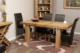 rustic oak dining table 50 off rustic oak table and chairs extending oslo