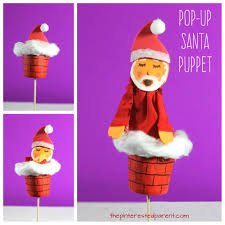 pop up santa puppet cup craft u2013 the pinterested parent