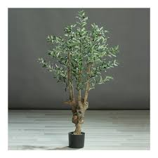 artificial olive tree in pot 120 cm floresy