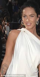 megan fox gets marilyn monroe tattoo lasered off her arm daily