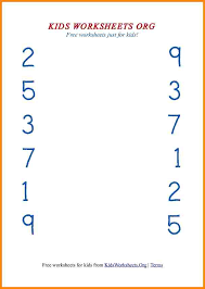 9 number matching worksheets media resumed