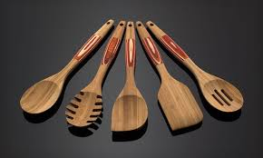 Red Kitchen Utensil Set - bamboo kitchen utensils groupon goods