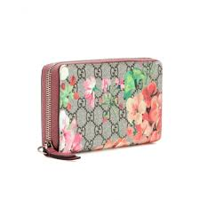 bloom wallet lyst gucci gg blooms chain wallet