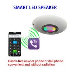 Wireless Speakers In Ceiling by Wifi Wireless Ceiling Speaker With Led Light For Iphone Samsung