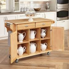 kitchen cart with cabinet amazon com home styles 5099 95 napa kitchen center natural