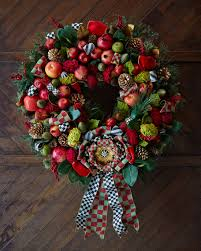 mackenzie childs estate barn 36 wreath