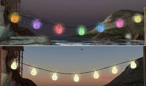 Novelty String Lights by Led Lighting Drop Dead Gorgeous Solar Powered Outdoor Led String