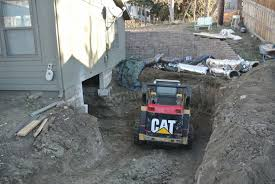 sunday reminiscences footers floor crawl space to basement in