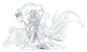 patreon bonus demon sword pencil lineart by muju on deviantart