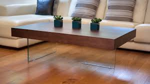 Uk Coffee Tables Large Modern Wood Coffee Table Clear Glass Legs Uk