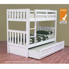 Bunk Bed With Trundle Bunk Beds U0026 Loft Beds Livingstyles Com Au