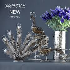 buy wholesale silver peacock ornaments from china silver