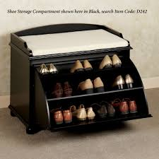 Shoe Storage With Seat Or Bench - aubrie shoe storage bench