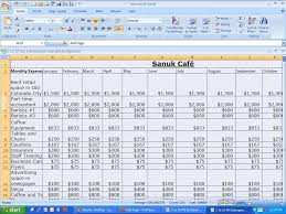 Samples Of Budget Spreadsheets by Wolf Business Dept