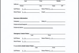 mcpl volunteer emergency contact information form templatezet