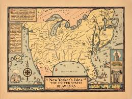 Map Of New York Harbor by New York U2013 The Map Room
