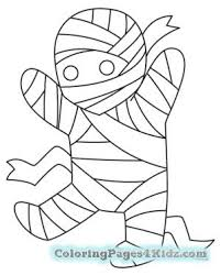 cute halloween mummy coloring pages coloring pages for kids