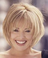 shaggy fine hair bobs layered with full bangs with fine hair hair pinterest full