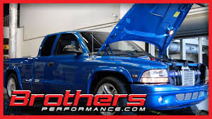 2000 dodge dakota rt magnum turbo on the dyno at brothers