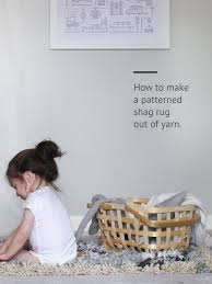 diy patterned shag rug how to make a patterned shag rug out of
